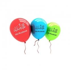 Sachet de 10 ballons Aid Moubarak