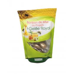 Bonbon de miel au propolis et gelée royale - Karamat
