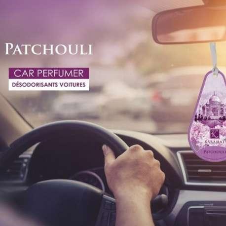 Désodorisant voiture Musc Patchouli - Karamat