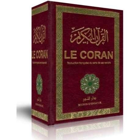 Coran traduction française du sens de ses versets (AR/FR) Maison Ennour