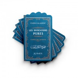 PACK : 25 invocations pures bleu - Ibn Taymiyya - al-Albânî - éditions Al-Hadîth