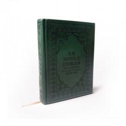 Le Noble CORAN Avec Traduction De Ses Sens Vers La Langue Française (Couleur Vert) - Editions Sana