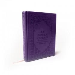 Le Noble CORAN Avec Traduction De Ses Sens Vers La Langue Française (Couleur Violet) - Editions Sana