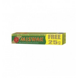 MISWAK HERBAL TOOTH PASTE Dentifrice 50+25 gr