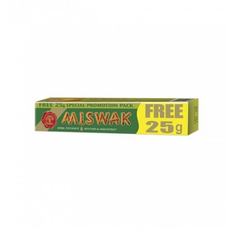 MISWAK HERBAL TOOTH PASTE Dentifrice 50+25 gr