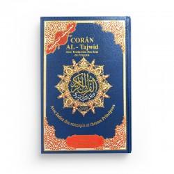 Coran Al-Tajwid avec traduction des sens en français avec index des concepts et themes principaux - Avec phonétique