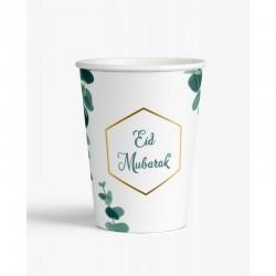 Gobelet Eucalyptus - lot de 6 - Eid moubarak