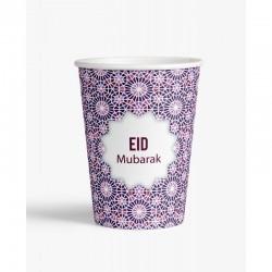 Gobelet Mosaic Eid - lot de 6 - Eid moubarak