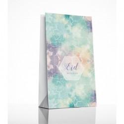 Sacs cadeaux aquarelle - lot de 6 - Eid moubarak