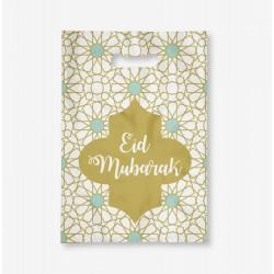 Sac dorées - lot de 6 - Eid moubarak
