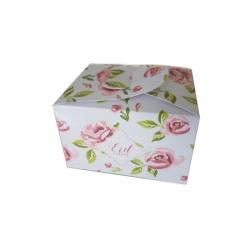 Boîtes de chocolat / Biscuits rose vintage  - Eid moubarak