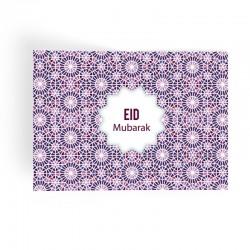 Napperons mosaïque (lot de 6) - Eid moubarak