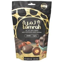 Tamrah - Dattes Aux Amandes Enrobées De Chocolat Noir (80 G)
