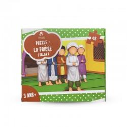 Puzzle La Prière - SALAT - 48 Pièces - Muslim Kid - 3 ans+