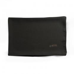 HIJAB EN SOIE DE MÉDINE (70 x 190cm) - couleur noir - MEDINA