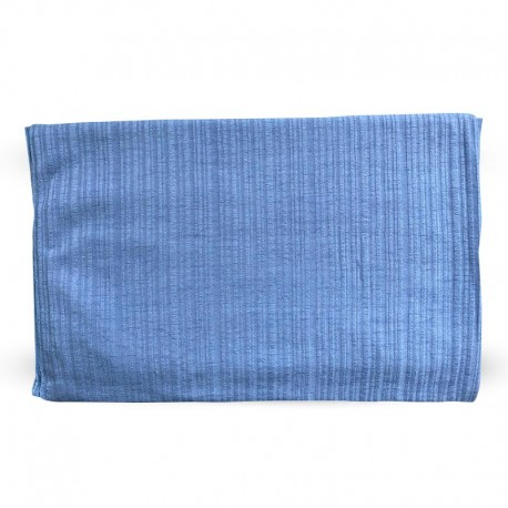 HIJAB EN LYCRA (70 x 180cm) - couleur bleu-gris- MEDINA