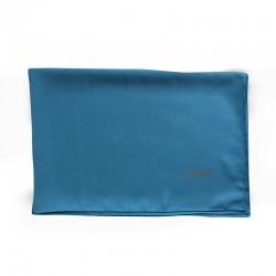 HIJAB EN SOIE DE MÉDINE (70 x 190cm) - couleur turquoise foncé - MEDINA