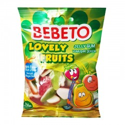 LOVELY FRUITS BEBETO - 80g - bonbon halal