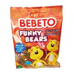 Funny Bear - 80g - bonbon halal