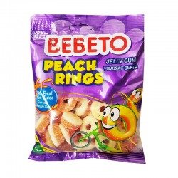 Peach Rings - 80g - bonbon halal