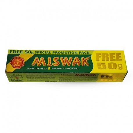 MISWAK HERBAL TOOTH PASTE Dentifrice 120+50 gr gratuit