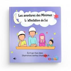 """Livre audio connecté – Les aventures des Minimuz """"L'attestation de foi"""""""