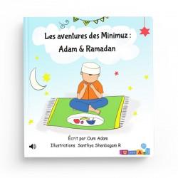 """Livre audio connecté – Les aventures des Minimuz """"Adam & Ramadan"""""""