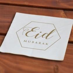 Serviettes en papier (50 pieces)  - Eid moubarak