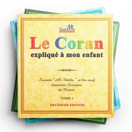 Pack : Le Coran Expliqué À Mon Enfant (7 Tomes) - Editions Pixelgraf