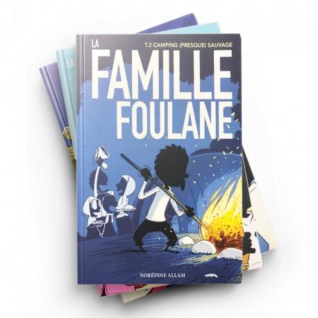 Pack : LA FAMILLE FOULANE (5 livres) - BDOUIN