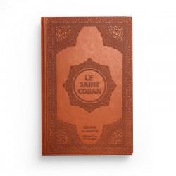 Le saint Coran - arabe français - brun - Librairie El-Azhar