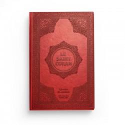 Le saint Coran - arabe français - rouge - Librairie El-Azhar