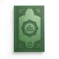Le saint Coran - arabe français - vert - Librairie El-Azhar