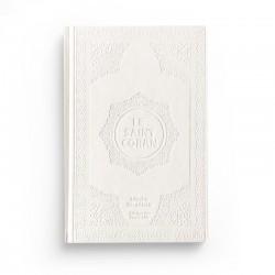Le saint Coran - arabe français - blanc - Librairie El-Azhar