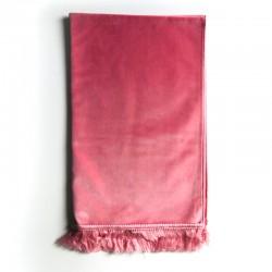Tapis De Prière Velours Luxe Couleur Unie - 120 X 70 CM - ROSE PASTEL