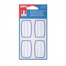 AGIPA Pochette de 32 étiquettes scolaires Livre et Cahier 33 x 53