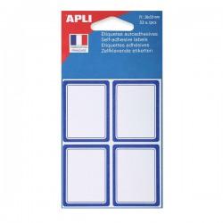 AGIPA Pochette de 32 étiquettes scolaires 38 x 50