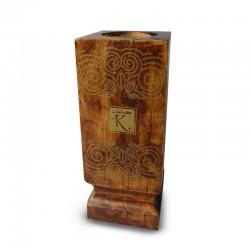 Encensoir en bois marron foncé – Karamat Collection