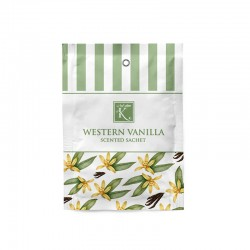 Sachet parfumé « WESTERN VANILLA » - KARAMAT COLLECTION