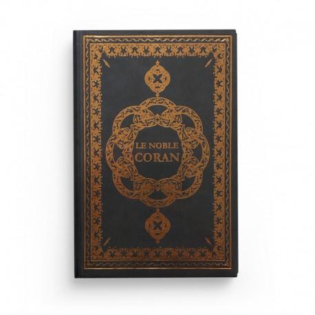 Le Noble Coran - Arabe Français Phonétique - arc-en-ciel - Petit Format - gris foncé - Edition Ennour