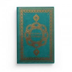 Le Noble Coran - Arabe Français Phonétique - arc-en-ciel - Petit Format - turquoise - Edition Ennour