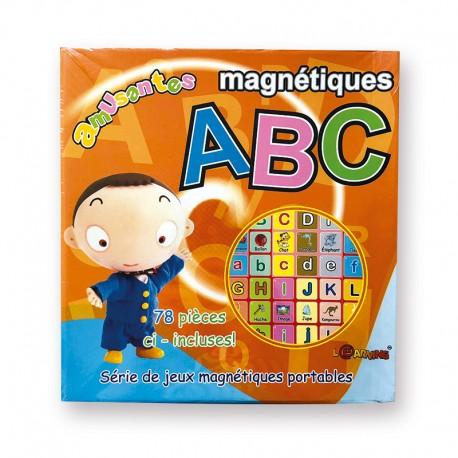 MAGNETIQUE AMUSANTES ABC - JEU DE MAGNETS DE L'ALPHABET ARABE (78 MAGNETS) - DIGITAL FUTURE