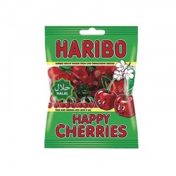 Bonbon Haribo - Happy Cherries Halal - 80G