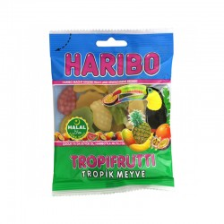 Bonbon Haribo - Tropifrutti Halal - 100g