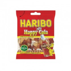 Bonbon Haribo - HAPPY COLA Halal - 100g